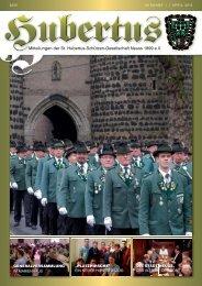 Hubertuszeitung Ausgabe 01/2013 - St. Hubertus-Schützen ...