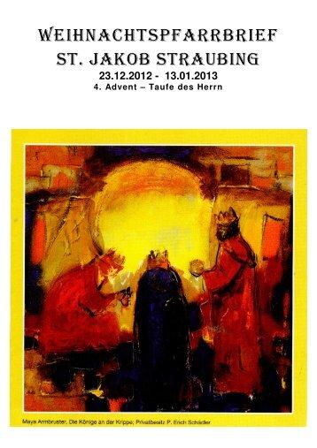 12-2012 Pfarrbrief Weihnachten 2012 - Pfarrgemeinde St. Jakob