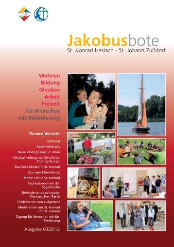 Ausgabe herunterladen - St. Jakobus Behindertenhilfe