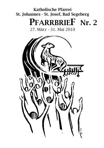 PFARRBRIEF Nr. 2 - Katholische Pfarrei St. Johannes - St. Josef