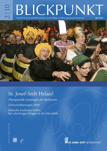 Blickpunkt 2/10 - St. Josef-Stift Sendenhorst