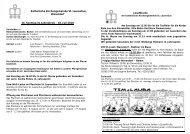 Pfarrnachrichten zum 16. Sonntag im Jahreskreis - 18. Juli 2010
