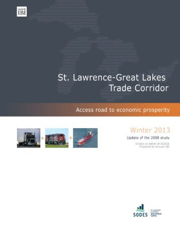 St. Lawrence-Great Lakes Trade Corridor Study – Winter ... - SODES