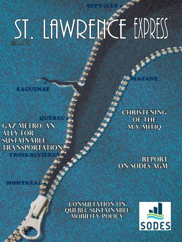 St. Lawrence EXPRESS, July 2, 2013 - SODES