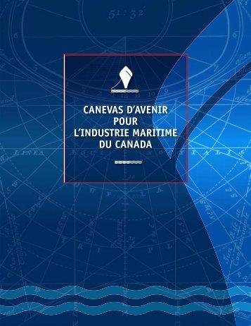 canevas d'avenir pour l'industrie maritime du canada - SODES