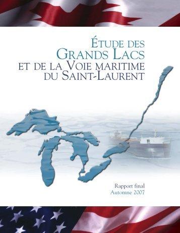 Étude des Grands Lacs et de la Voie maritime du Saint-Laurent