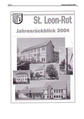 Rückblick 2004 - St. Leon-Rot