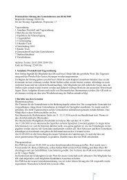Protokoll - Propsteipfarrei St. Ludgerus