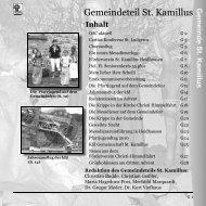 Gemeindeteil St. Kamillus - Propsteipfarrei St. Ludgerus