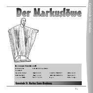 G em einde St. M arkus - Propsteipfarrei St. Ludgerus