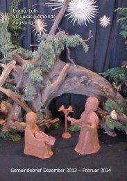 Gemeindebrief Dezember 2013 - Evang.-Luth. Kirchengemeinde St ...