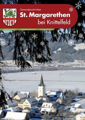 Ausgabe 93/2012 - St. Margarethen bei Knittelfeld
