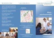 Akut- psychosomatik - Krankenhaus St. Marienwörth