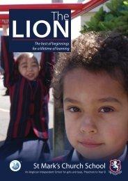 The Lion Spring Edition, 2012 - St Mark's Church School