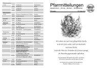 Pfarrmitteilungen Pfingsten - Katholische Pfarrgemeinde St. Martin ...