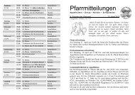 Pfarrmitteilungen 4. Sonntag in der Osterzeit - Katholische ...