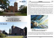 Gemeinde (er) leben! 01.2013 - St. Martinus Moers