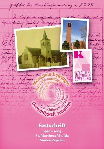 Festschrift - St. Martinus Moers