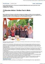 72-Stunden-Aktion: Großes Fest in Melle - St. Matthäus Melle