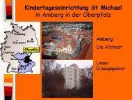 Kindertageseinrichtung St Michael in Amberg in der Oberpfalz