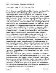 Samstag, 29. April 2012 - St. Michael Weingarten