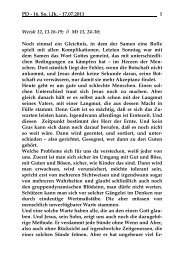 Sonntag, 17. Juli 2011 - St. Michael Weingarten