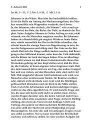 Sonntag, 4. Dezember 2011 - St. Michael Weingarten
