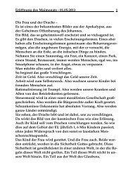 Mittwoch, 1. Mai 2013 - St. Michael Weingarten