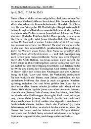Sonntag, 26. Mai 2013 - St. Michael Weingarten