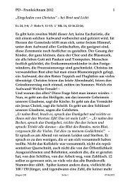 Donnerstag, 7. Juni 2012 - St. Michael Weingarten
