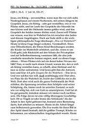 Sonntag, 25. November 2012 - St. Michael Weingarten