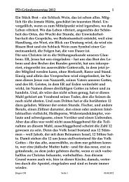 Predigt - St. Michael Weingarten
