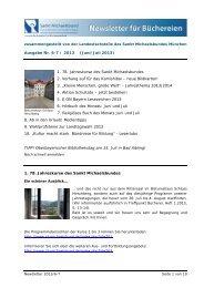 Newsletter 6-7/2013 - Sankt Michaelsbund