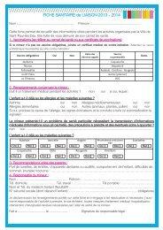 Télécharger le fichier fiche sanitaire 2013_Mise en page 1.pdf (73 ...