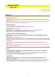 Medien-Info 2010-11 - St. Peter und Paul
