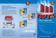 FRITZ! Prodotti VoIP - Allnet Italia