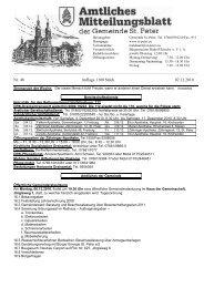 Nr. 48 Auflage 1100 Stück 02.12.2010 - St. Peter