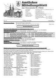 Nr. 16 Auflage 1100 Stück 16.04.2009 - St. Peter