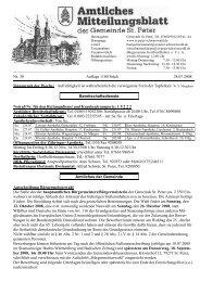 Samstag, 1. Juli,_20.15 Uhr_Klosterhof: Kurkonzert mit ... - St. Peter