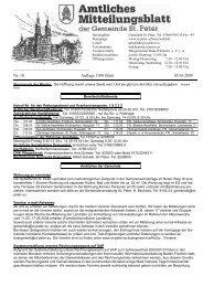 Nr. 10 Auflage 1100 Stück 05.03.2009 - St. Peter