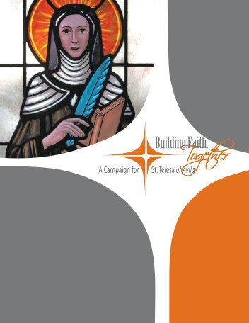 Download Campaign Brochure PDF (1.9mb) - St. Teresa of Avila ...