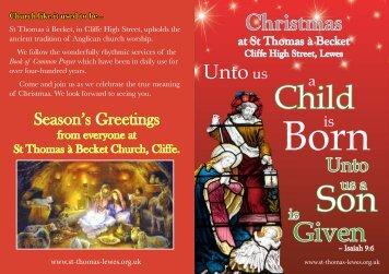 Christmas - St Thomas - Lewes