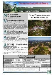 Folge 4/2011 - St. Thomas am Blasenstein