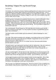 Benytte scripting til dine opgaver.pdf - Hennings sider om ...