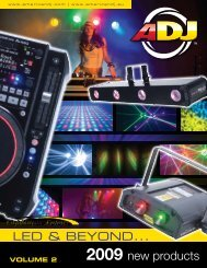 2009 new products - American DJ