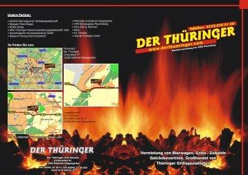 Der Thüringer bietet: Vermietung
