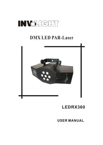 Dmx led par manual