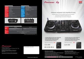 CDJ-350 DJM-350 - Pioneer