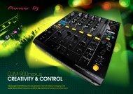 DJM-900nexus CREATIVITY & CONTROL - Pioneer