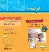 Info-Flyer für werdende Mütter - St. Vincenz Krankenhaus Limburg